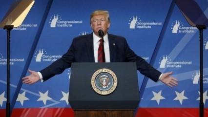 Trump'tan çağrı: Çekilin! Hiç şansınız yok!