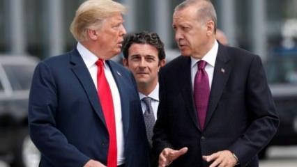 Trump'tan yeni açıklamalar: Cumhurbaşkanı Erdoğan'a dedim ki...