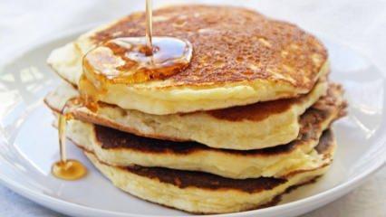 Yoğurtlu pancake nasıl yapılır?