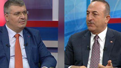Bakan Çavuşoğlu, YPG'nin gizli tezgahını açıkladı ve resti çekti