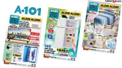 A101 17 Ekim aktüel ürünler kataloğu! Elektrikli ev aletlerinde indirim...