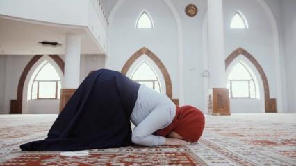 Namazda sırasıyla okunacak sure ve dualar! Namaz duaları anlamları neler?