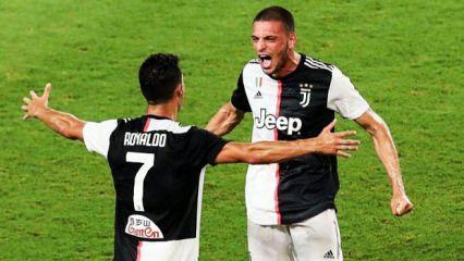 Ronaldo'dan Merih Demiral'a asker selamı