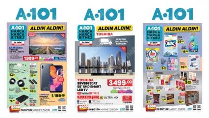A101 25 Ekim aktüel ürünler kataloğunun tamamı!