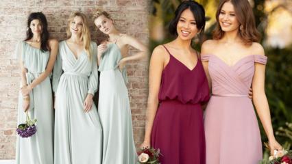 Bekarlığa veda partisi için şık abiye elbise modelleri