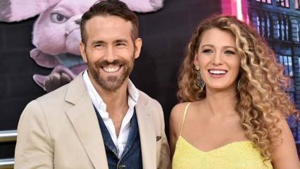 Blake Lively eşi Ryan Reynolds'tan doğum günü kutlama intikamını aldı!