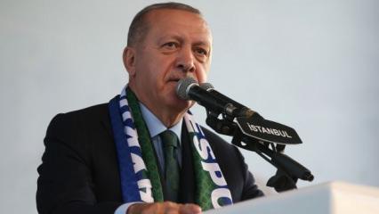 Cumhurbaşkanı Erdoğan, Çebi'yi kutladı