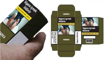 Sigaralar raflardan kalkıyor: Yeni sigara paketleri belli oldu