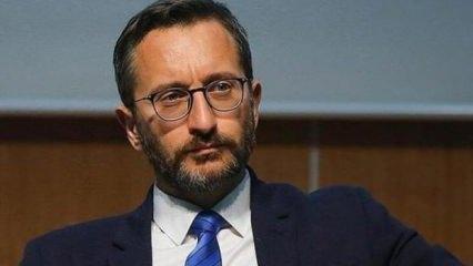 Fahrettin Altun: Bağdadi'nin öldürülmesi büyük bir başarı
