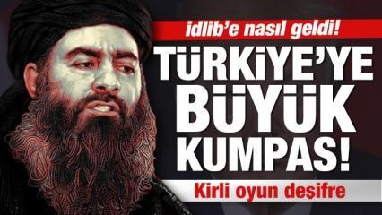 Bağdadi PKK'yı aşıp İdlib'e nasıl geldi?
