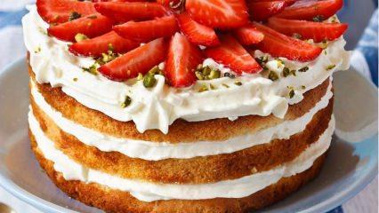 Evde Pandispanya keki yapmanın püf noktaları