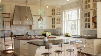 Mutfak tezgahı temizlemenin pratik yöntemi