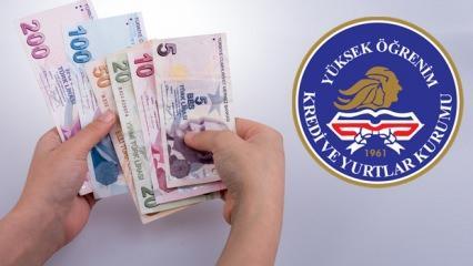 2020 KYK burs ücretleri ne kadar oldu? Kredi Yurtlar Kurumu burs zammı