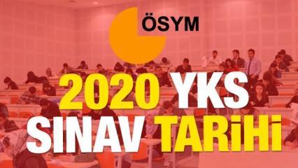 2020 YKS sınav tarihi! Üniversite sınav başvurusu ne zaman başlıyor?