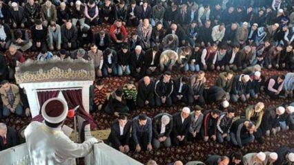 Cuma hutbesi yayınlandı: 8 Kasım Diyanet Cuma hutbesi!