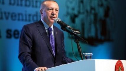 Cumhurbaşkanı Erdoğan: Asla biz bunlara eyvallah edemeyiz