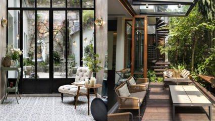 Kış mevsimi için teras dekorasyonu önerileri