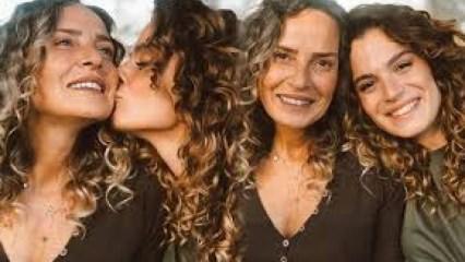 Oyuncu Aslı Bekiroğlu annesiyle ikiz gibi olduğu ortaya çıktı!