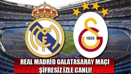 Real Madrid Galatasaray Şampiyonlar Ligi maçını veren kanallar!