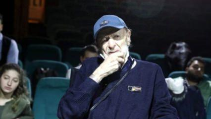 Türk sinemasının usta ismi Kayhan Yıldızoğlu hastaneye kaldırıldı