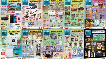 A101 14 Kasım aktüel ürün indirimleri belli oldu! Seçili ürünlerde büyük kampanya..