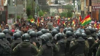 Bolivya'da ordu sokağa indi! Polise destek verilecek