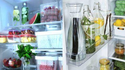 Buzdolapları için raf düzenleme önerileri