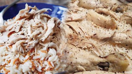 En lezzetli tavuklu pilav nasıl yapılır?