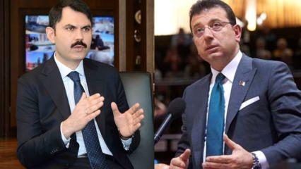 İmamoğlu iptal etti, Erdoğan sert çıktı! Bakan canlı yayında duyurdu