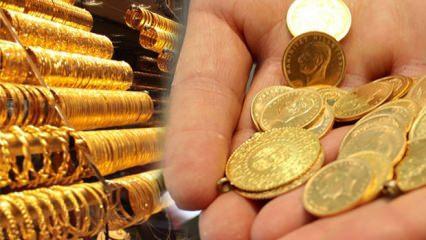 19 Kasım altın fiyatları ani düşüş! Gram altın ve çeyrek altın ne kadar?