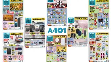 21 Kasım A101 aktüel kataloğu! Elektronik ve tekstil ürünlerinde...