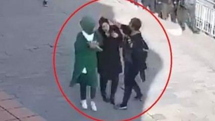 Başörtülü kızlara saldıran kadından İslam'a hakaret
