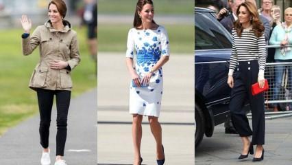 İngiliz Kraliyeti'nin gözde prensesi Kate Middleton'un giyimi göz dolduruyor! Kate Middleton kimdir?