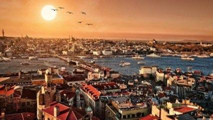 İstanbul'un yedi tepeleri neresidir?