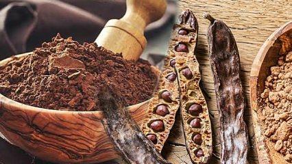 Keçiboynuzu pekmezinin faydaları | Keçiboynuzu suyu ve çekirdeğinin kullanımı...