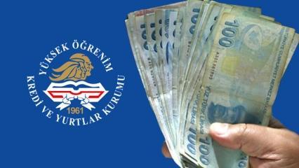 Kredi Yurtlar Kurumu KYK burs ve kredi ödemesi ne zaman hesaplarda olacak?