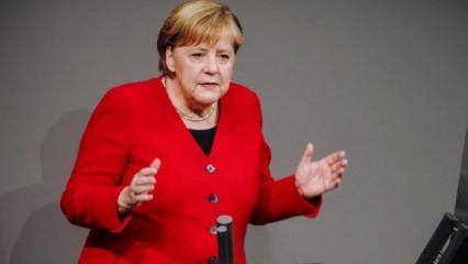 Mecliste hararetli konuşma! Merkel'den Türkiye açıklaması