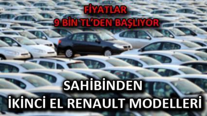30 bin TL altı sahibinden ikinci el Reanult araç modelleri: Fiyatlar 9 bin TL'den başlıyor!