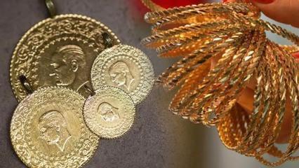 3 Aralık Altın fiyatları çıkışta! Gram altın ve çeyrek altın alış, satış ne kadar?