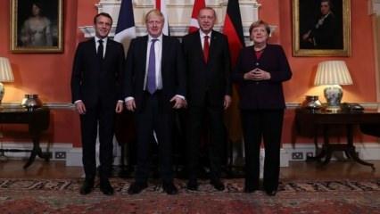 4'lü zirve sonrası Macron'dan açıklama: Türkiye'ye geleceğiz