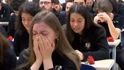Ceren Özdemir için gözyaşları sel oldu! Bütün okul ağladı