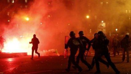 Son dakika:Fransa yanıyor! Çatışmalar şiddetli Türkiye'den acil çağrı