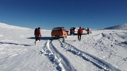 Uludağ'da kaybolan iki arkadaşı arama çalışmaları sürüyor