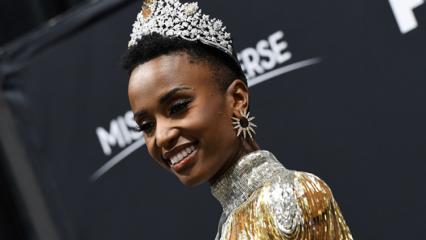 2019 Kainat Güzeli yarışmasında ilk kez Afro saçlı Zozibini Tunzi oldu!