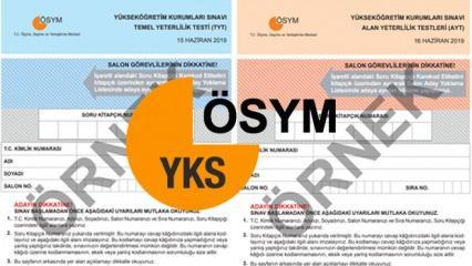 2020 YKS başvuru tarihleri | ÖSYM üniversite sınavı aday başvuru formu
