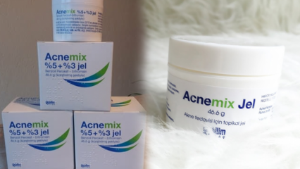 Acnemix Jel ne işe yarar? Acnemix Jel nasıl kullanılır? Acnemix Jel fiyatı 2020