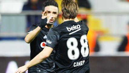 Beşiktaş'ı Caner ve Gökhan sırtlıyor!