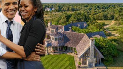 Barack Obama ve eşi Michelle Obama'nın 11 milyon dolarlık malikanesi