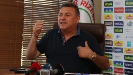 Çaykur Rizespor Başkanı Hasan Kartal'dan istifa sinyali!