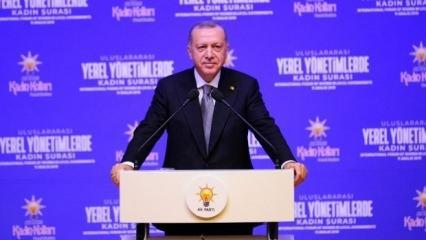 Erdoğan 'Onun gibi cesuru az bulunur' derken boğazı düğümlendi